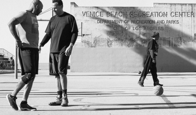 In the hood: Venice Beach